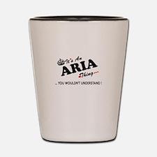 Cute Aria Shot Glass
