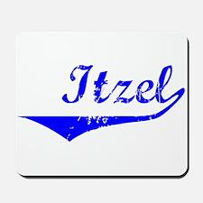 Itzel Vintage (Blue) Mousepad