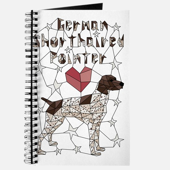 Unique Pets german shorthaired pointer Journal