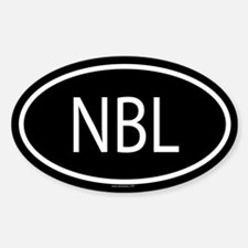 NBL Oval Decal