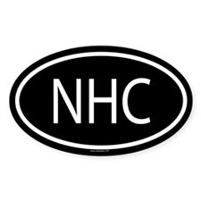 NHC Oval Decal