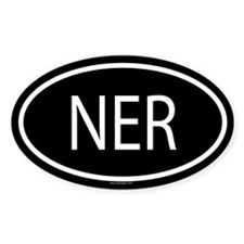 NER Oval Decal