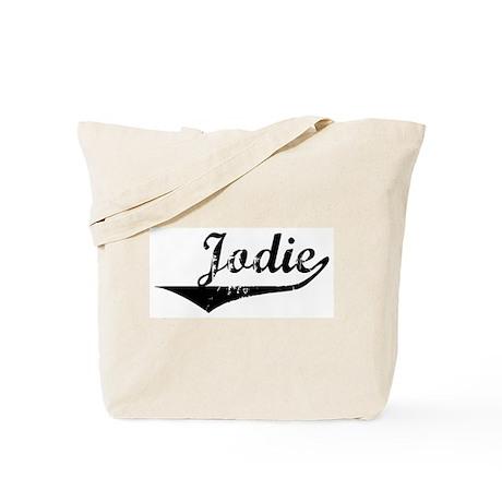 Jodie Vintage (Black) Tote Bag