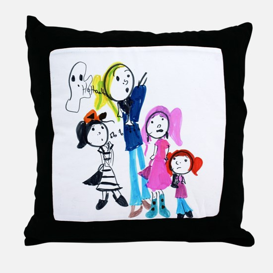 Cute Talented Throw Pillow