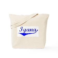 Iyana Vintage (Blue) Tote Bag