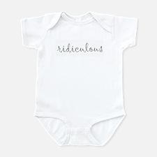 Unique Words Infant Bodysuit