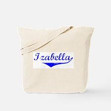 Izabella Vintage (Blue) Tote Bag