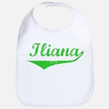 Iliana Vintage (Green) Bib