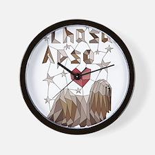 Geometric Lhasa Apso Wall Clock