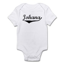 Johana Vintage (Black) Infant Bodysuit
