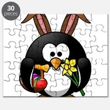 Happy Easter Penguin Puzzle