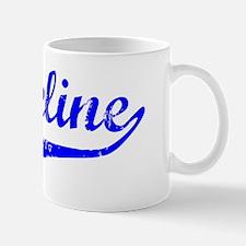 Jackeline Vintage (Blue) Mug