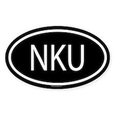 NKU Oval Decal