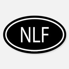 NLF Oval Decal