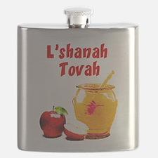 L'shanah Tovah Flask