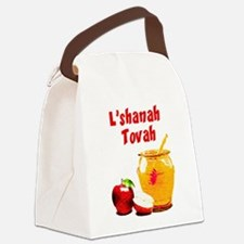 L'shanah Tovah Canvas Lunch Bag