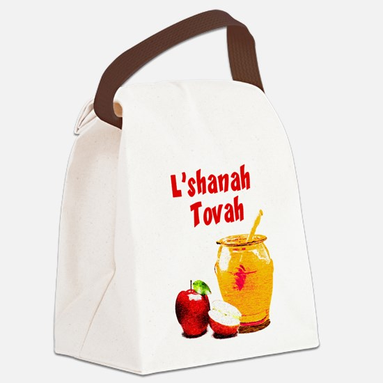 L'shanah Tovah Canvas Lunch Bag