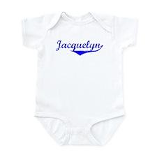 Jacquelyn Vintage (Blue) Onesie