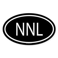 NNL Oval Decal
