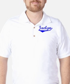 Jaelyn Vintage (Blue) Golf Shirt