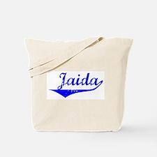Jaida Vintage (Blue) Tote Bag