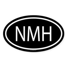 NMH Oval Decal