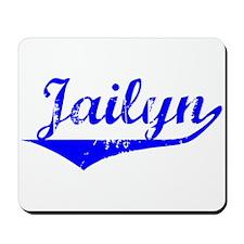 Jailyn Vintage (Blue) Mousepad