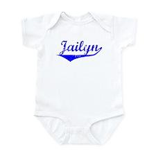 Jailyn Vintage (Blue) Infant Bodysuit