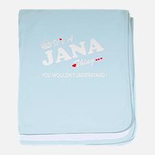 Unique Jana baby blanket