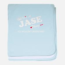 Unique Jase baby blanket
