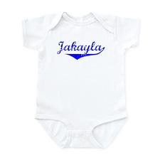 Jakayla Vintage (Blue) Infant Bodysuit