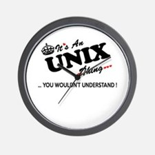 Unique Unix Wall Clock