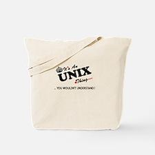 Unique Unix Tote Bag