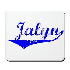 Jalyn Vintage (Blue) Mousepad