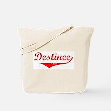 Destinee Vintage (Red) Tote Bag