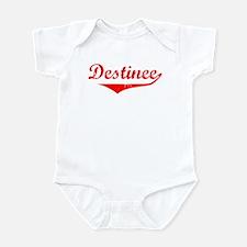 Destinee Vintage (Red) Infant Bodysuit