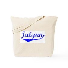 Jalynn Vintage (Blue) Tote Bag
