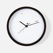 Funny Jody Wall Clock
