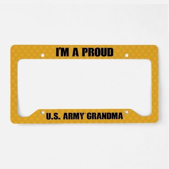 U.S. Army Grandma License Plate Holder