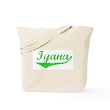 Iyana Vintage (Green) Tote Bag