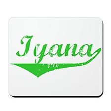 Iyana Vintage (Green) Mousepad