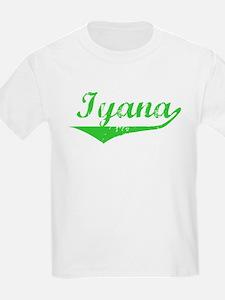 Iyana Vintage (Green) T-Shirt