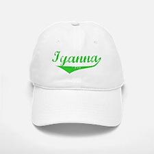 Iyanna Vintage (Green) Baseball Baseball Cap