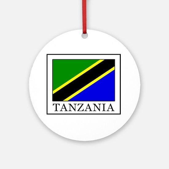 Tanzania Round Ornament
