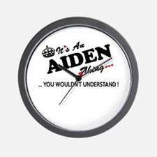 Cute Aiden Wall Clock