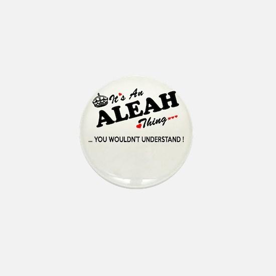 Cute Aleah Mini Button