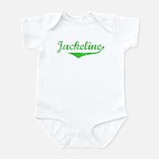 Jackeline Vintage (Green) Infant Bodysuit
