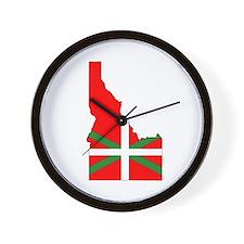 Idaho Basque Wall Clock