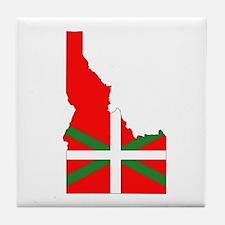 Idaho Basque Tile Coaster