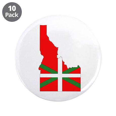 "Idaho Basque 3.5"" Button (10 pack)"